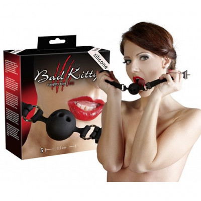 Bad Kitty Small Silicone Ball Gag