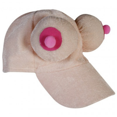 Plush Boobs Cap
