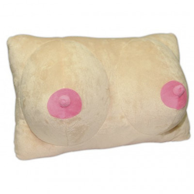 Plush Boobs Pillow