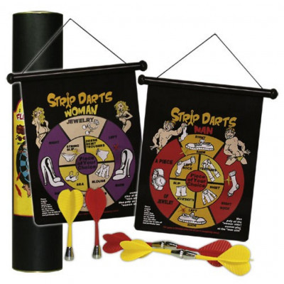 Strip Darts Game