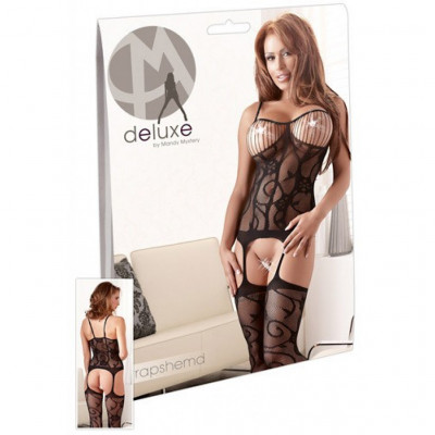 Sexy One-piece Suspender Illusion