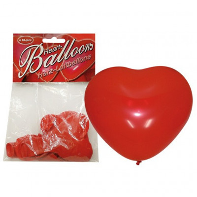 Heart Balloons 6pcs
