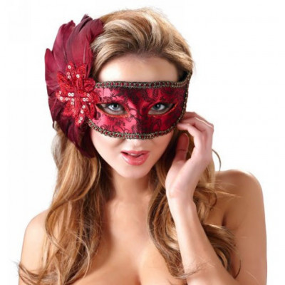 Red Secret Eye Mask