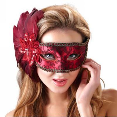 Red Secret Eye Mask
