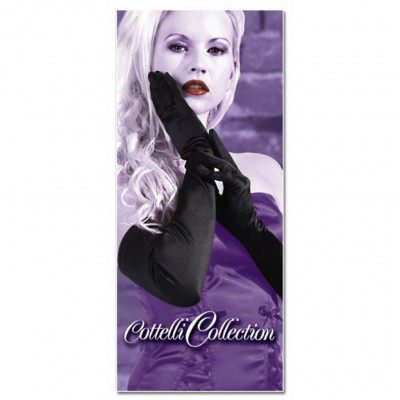 Extra Long Satin Gloves by Cottelli