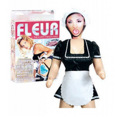 Fleur The Flirty French Maid