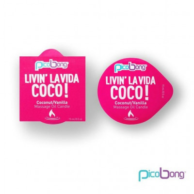 Picobong Massage Candle Coconut-Vanilla