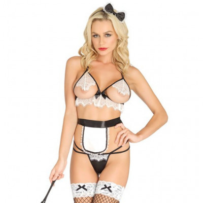Leg Avenue Naughty French Maid Set