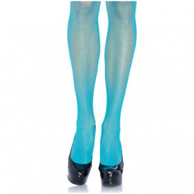 Leg Avenue Fishnet Tights Blue