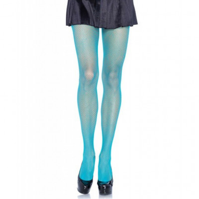 Leg Avenue Fishnet Tights Blue