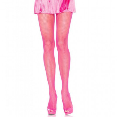 Leg Avenue Fishnet Tights Pink