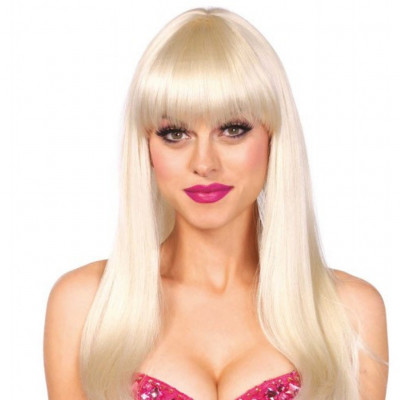 Blonde Long Straight Wig