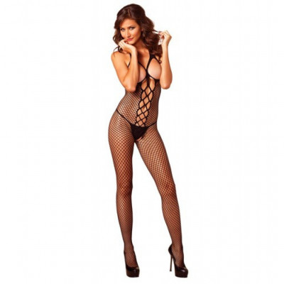Leg Avenue Cupless Net Bodystocking