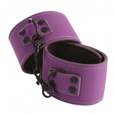 Lust Ankle Cuffs Purple
