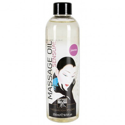 Shiatsu Jasmin Sensuel Massage Oil 250ml