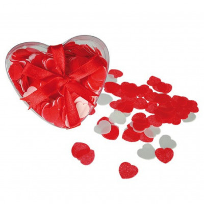 Heart Shaped Bath Confetti
