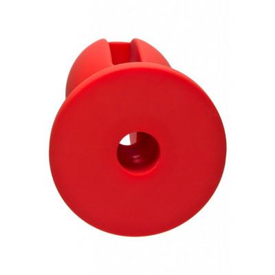 Doc Johnson Kink Red Lube Luge Plug 4 inch
