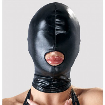 Shiny Hood with Mouth Opening