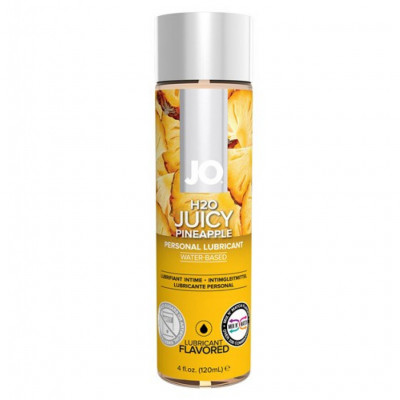 Jo Juicy Pineapple Flavored Water Based Lube 120 ml