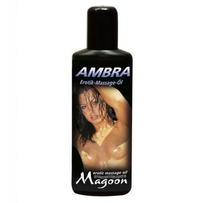 Λιπαντικό μασάζ μέ μυρωδιά Κεχριμπάρι Magoon 100 ml