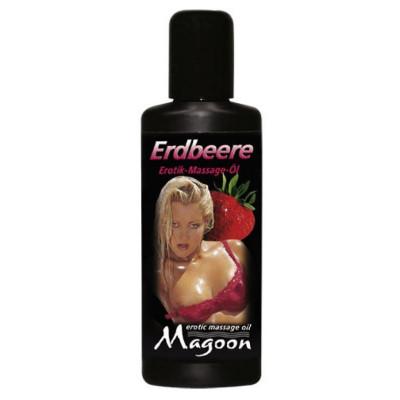 Λιπαντικό μασάζ μέ μυρωδιά Φράουλας Magoon 50ml