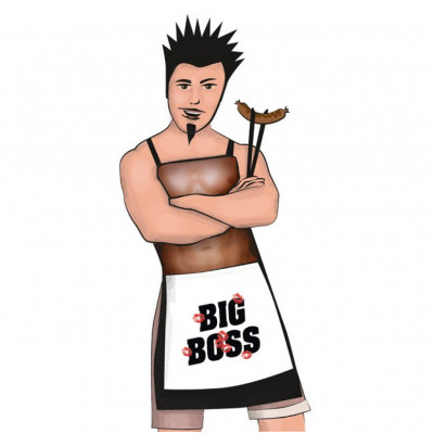 Big Boss Apron for Him