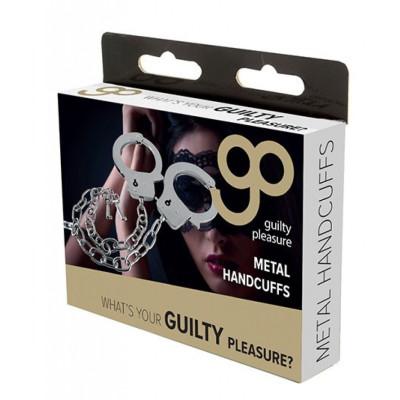 Metal Handcuffs Long Chain 45cm