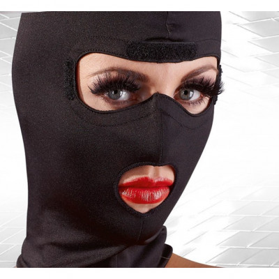 Fetish Hood with Removable Blindfold
