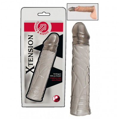 Υou2Toys Clear Penis extension sleeve