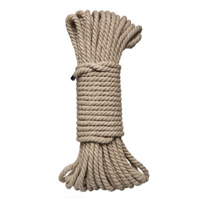 Natural Hemp Bondage Rope 15 Meter