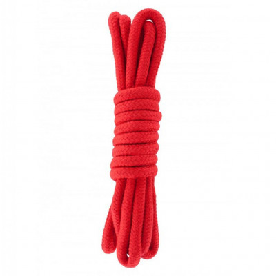 Hidden Desire Bondage Rope Red 3m