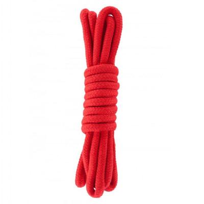 Hidden Desire Bondage Rope Red 3m