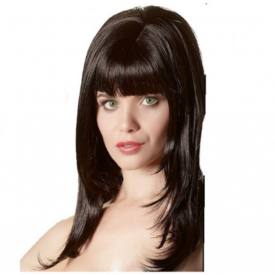 Sexy Long Black Wig