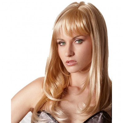 Flirty Long Blonde Wig