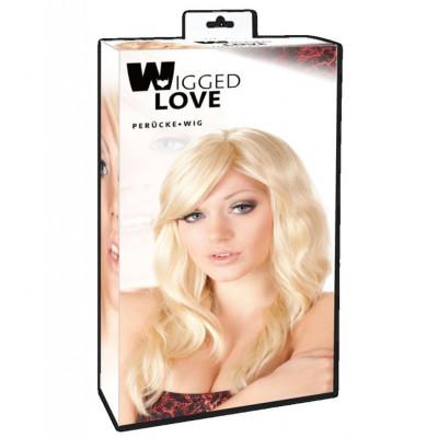 Περούκα ξανθιά πλατινέ Britney 53 εκ