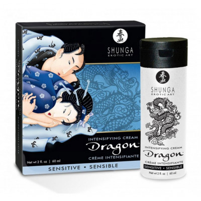 Shunga Dragon Cream Sensitive 60ml