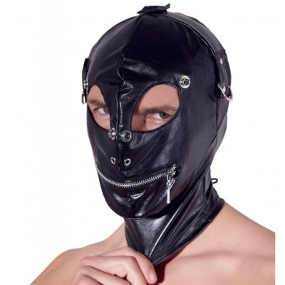 Full head leather Mask