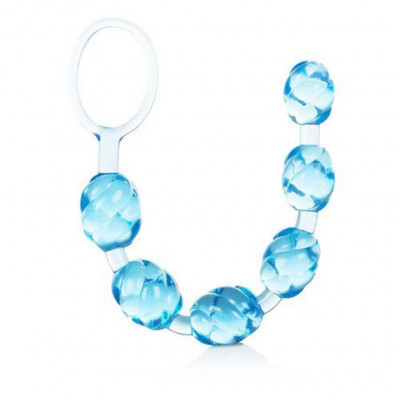 Swirl Pleasure Beads Blue