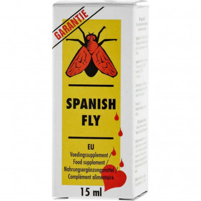 Spanish Fly Aphrodisiac Drops 15ml