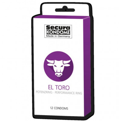 Secura El Toro 12 condoms