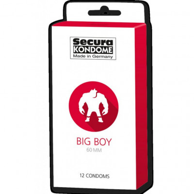Secura Big Boy 60mm 12 condoms