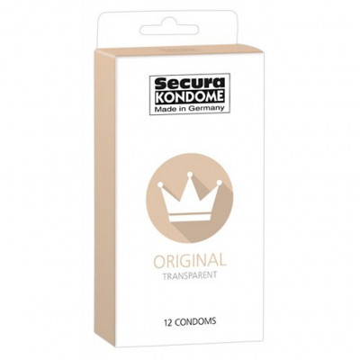 Secura Original Transparent 12 Condoms