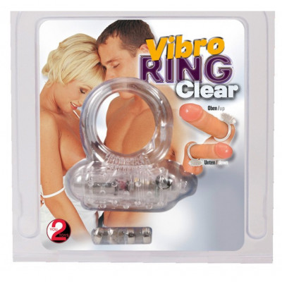 Vibro ring Silicone Clear