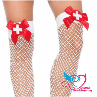 Leg Avenue Nurse Fishnet Stocking