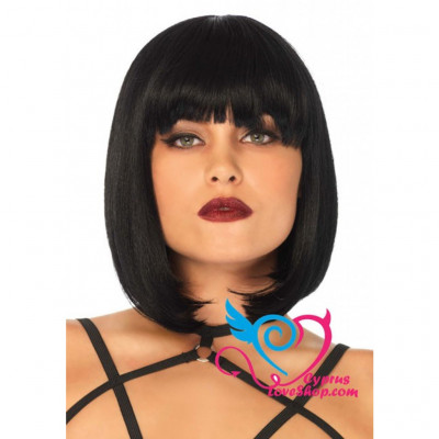 Leg Avenue Short Bob Wig Black