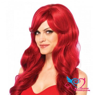 Leg Avenue Long Wavy Red Wig