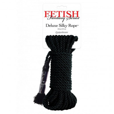 Deluxe Silky Rope Black 10 meters