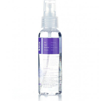 Toy Cleaning Spray Transparent 100 ml Kinx Spritz