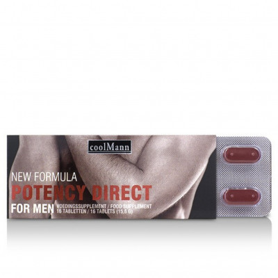 CoolMann Sexual Potency Enhancer Erection Stimulator