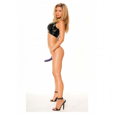 Purple Hollow Strap-On for Him or Her